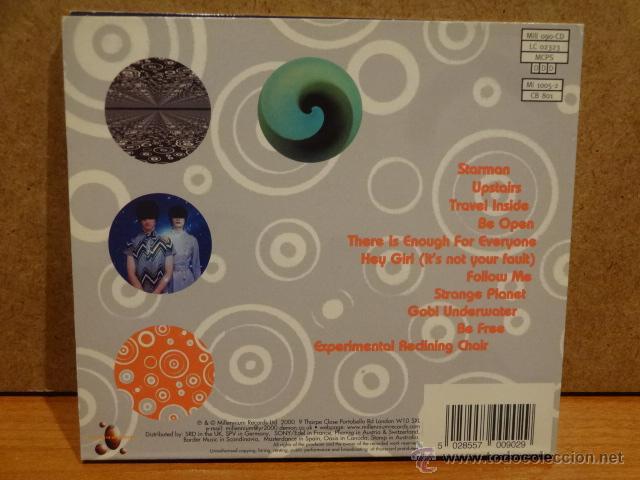 CDs de Música: THE STARSEEDS. THERE IS ENOUGH FOR EVERYONE. DIGIPACK-CD / MILLENIUM - 2000. 11 TEMAS. CALIDAD LUJO. - Foto 3 - 45818872