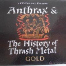 CDs de Música: ANTHRAX & THE HISTORY OF THRASH METAL. Lote 45819166