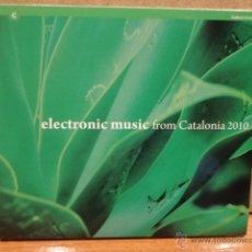 CDs de Música: ELECTRONIC MUSIC FROM CATALONIA 2010.DIGIPACK-CD/PROMO - 18 TEMAS. CALIDAD LUJO.. Lote 45821275