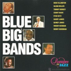 CDs de Música: BLUE BIG BANDS-DUKE ELLINGTON & HIS ORCHESTRA + GLENN MILLER + TOMMY DORSEY BIG BAND + QUINCY JONES. Lote 45831618
