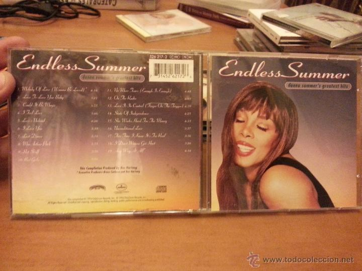 CDs de Música: CD DONNA SUMMER´S-ENDLESS SUMMER - Foto 2 - 45838820