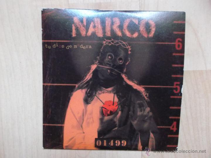 NARCO TU DIOS DE MADERA CD SINGLE DE CARTON PROMOCIONAL (Música - CD's Rock)
