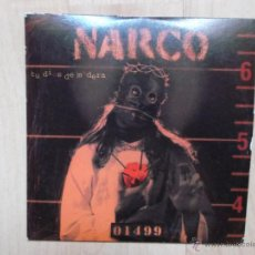 CDs de Música: NARCO TU DIOS DE MADERA CD SINGLE DE CARTON PROMOCIONAL. Lote 45847717