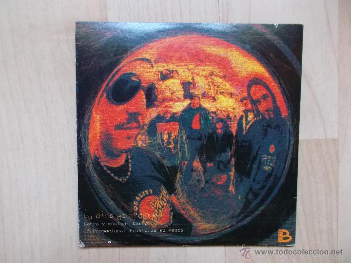 CDs de Música: NARCO TU DIOS DE MADERA CD SINGLE DE CARTON PROMOCIONAL - Foto 2 - 45847717