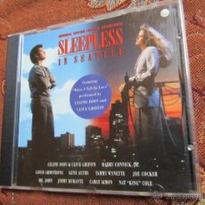CDs de Música: B.S.O. SLEEPLESS- FEATURING WHEN I FALL IN LOVE PERFORMED BY CELINE DION AND CLIVE GRIFFIN-DEL 93. Lote 45859208