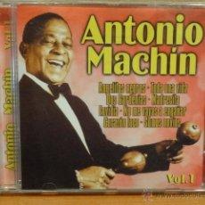 CDs de Música: ANTONIO MACHIN. VOL. 1 CD / PACIFIC MUSIC - 2002. 12 TEMAS. CALIDAD LUJO.. Lote 45873068