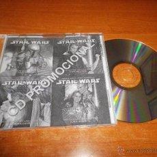 CDs de Música: STAR WARS EPISODIO II CD SINGLE PROMOCIONAL ACROSS THE STAR CONTIENE 3 TEMAS PRUEBA PRENSAJE. Lote 45878874