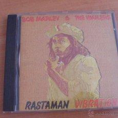CDs de Música: BOB MARLEY AND THE WAILERS (RASTAMAN VIBRATION) CD 10 TRACKS (CD19). Lote 45884478