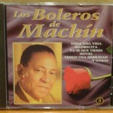CDs de Música: LOS BOLEROS DE MACHIN. VOL 3. CD / DIVUCSA - 1993. 14 TEMAS. CALIDAD LUJO.. Lote 45931608