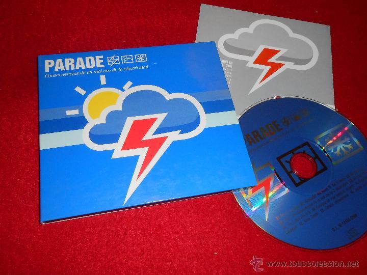 PARADE CONSECUENCIAS DE UN MAL USO DE LA ELECTRICIDAD CD 2000 SPICNIC 17 POP! RARO (Música - CD's Pop)