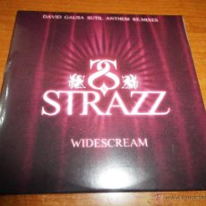 CDs de Música: STRAZZ WIDESCREAM DAVID GAUSA SUTIL ANTHEM REMIXES CD SINGLE PRECINTADO 2005 4 TEMAS. Lote 194266181
