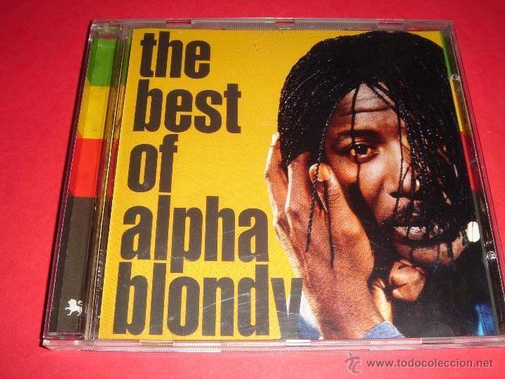 ALPHA BLONDY / THE BEST OF ALPHA BLONDY / LO MEJOR DE / GREATEST HITS / GRANDES ÉXITOS / CD (Música - CD's Reggae)