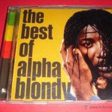 CDs de Música: ALPHA BLONDY / THE BEST OF ALPHA BLONDY / LO MEJOR DE / GREATEST HITS / GRANDES ÉXITOS / CD. Lote 44739763