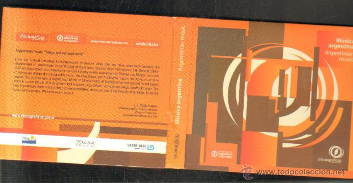 MUSICA ARGENTINA. 2 CD´S. CD-VARIOS-640 (Música - CD's Otros Estilos)
