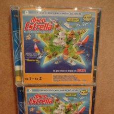 CDs de Música: DISCO ESTRELLA. VOL 5. ÉXITOS DEL VERANO. 2 X 2 CDS / VALE MUSIC - 2002. 60 TEMAS. BUENA CALIDAD.. Lote 45984654
