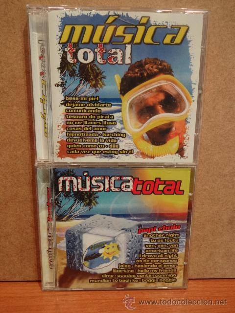MÚSICA TOTAL. DOBLE CD / PACIFIC MUSIC - 2003.40 TEMAS. CALIDAD LUJO. (Música - CD's Disco y Dance)