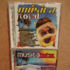 CDs de Música: MÚSICA TOTAL. DOBLE CD / PACIFIC MUSIC - 2003.40 TEMAS. CALIDAD LUJO.. Lote 45987935