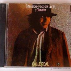 CDs de Música: CAMARON- PACO DE LUCIA Y TOMATITO - CALLE REAL (CD) 1997. Lote 45989823