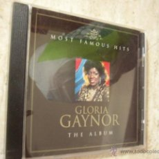 CDs de Música: GLORIA GAYNOR. THE ALBUM. 12 TEMAS. Lote 45994179