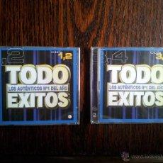 CDs de Música: TODO ÉXITOS-4CD´S. Lote 45994477