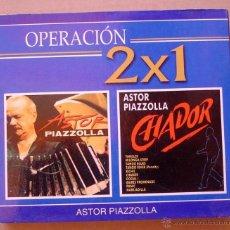 CDs de Música: ASTOR PIAZZOLLA - CHADOR / ASTOR PIAZZOLLA ( 2 CD). Lote 46005588
