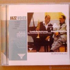 CDs de Música: L. ARMSTRON & D. ELLINGTON - THE MASTER TAKES (CD). Lote 46006289