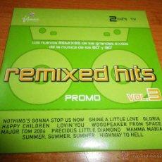 CDs de Música: REMIXED HITS VOL. 3 MEANSTREET BOYS LOFT LEVEL ELEVEN SPRITNEYBEARS CD ALBUM PROMO PETER SCHILLING. Lote 46008315