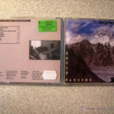 CDs de Música: DAVID PARSONS.TIBETAN PLATEAU + SOUNDS OF THE MOTHERSHIP...PEDIDO MINIMO 5€. Lote 46011251