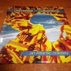 CDs de Música: THE UNIVERSE OF LUSAFRICA....AN ATLANTIC ODISSEY BONGA LURA BAU CD ALBUM PROMO PRECINTADO 12 TEMAS. Lote 46026159