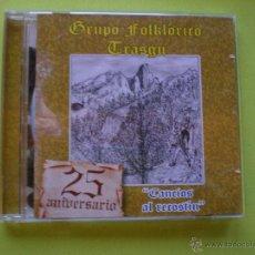 CDs de Música: GRUPO FOLKLORICO TRASGU 25 ANIVERSARIO CANCIOS AL RECOSTIN CD ALBUM ASTURIAS NUEVO¡¡¡. Lote 46048381