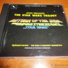 CDs de Música: THE STAR WARS TRILOGY BANDA SONORA CD ALBUM JOHN WILLIAMS 1985 ALEMANIA 14 TEMAS RETURN OF THE JEDI. Lote 46062950