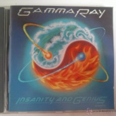 CDs de Música: GAMMA RAY - INSANITY AND GENIUS. Lote 46064888