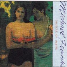 CDs de Música: MICHAEL FRANKS - OBJECTS OF DESIRE - CD. Lote 46069244