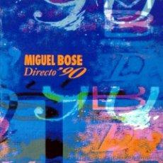 CDs de Música: MIGUEL BOSE - DIRECTO '90 - CD. Lote 46070705