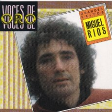 CDs de Música: MIGUEL RIOS - GRANDES EXITOS - CD. Lote 46071253