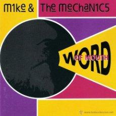 CDs de Música: MIKE + THE MECHANICS - WORD OF MOUTH - CD. Lote 46071519