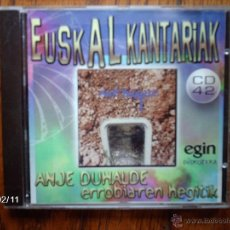 CDs de Música - anje duhalde ( ex- errobi ) - errobiaren hegitik - 46091360