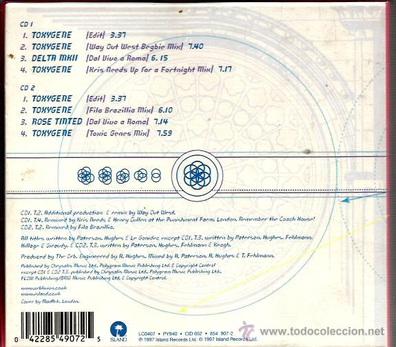 CDs de Música: doble CD ORB : TOYGENE 8 tracks - Foto 2 - 46105546
