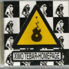 CDs de Música - CD XIMO TEBAR : HOMEPAGE ( CON SOLE JIMENEZ, LONNIE SMITH, JORGE PARDO, CARLES BENAVENT, ETC - 46105655