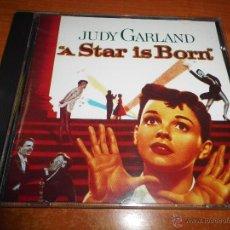 CDs de Música: A STAR IS BORN BANDA SONORA ORIGINAL JUDY GARLAND CD AÑO 1988 HAROLD ARLEN 8 TEMAS IRA GERSHWIN RARO. Lote 46114831