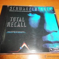 CDs de Música: TOTAL RECALL DESAFIO TOTAL BANDA SONORA ORIGINAL JERRY GOLDSMITH CD ALBUM 1990 USA CONTIENE 10 TEMAS. Lote 46116996