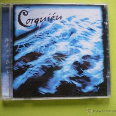 CDs de Música: CORQUIEN / LA BARQUERA CD ALBUM DISCOS L AGUAÑAZ AVILES ASTURIAS FOLK . Lote 46120018