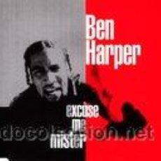 CDs de Música: BEN HARPER - EXCUSE ME MISTER - CD SINGLE PROMO - 4 TRACKS. Lote 46122123