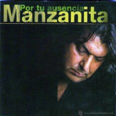 CDs de Música: MANZANITA - POR TU AUSENCIA - CD ALBUM - 12 TRACKS - WEA 1998 + REGALO CD SINGLE. Lote 46135265