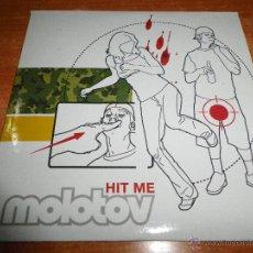 CDs de Música: MOLOTOV HIT ME CD SINGLE PROMOCIONAL ESPAÑOL 2003 FECHAS GIRA EN ESPAÑA 1 TEMA PORTADA CARTON. Lote 268120964