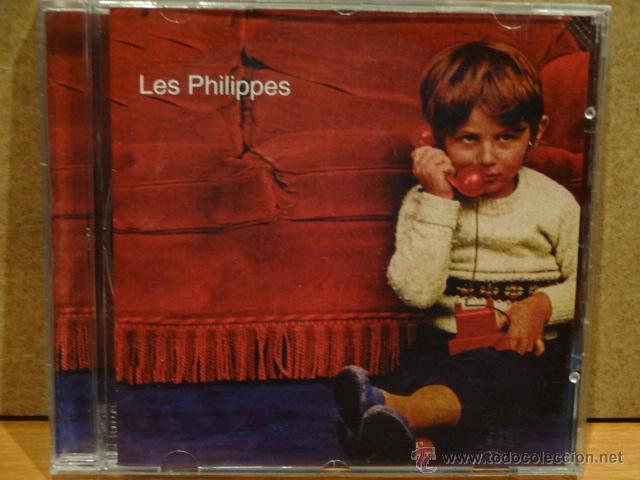 LES PHILIPPES. MISMO TÍTULO. 1999 - 5 TEMAS. MUY RARO. CALIDAD LUJO. (Música - CD's Otros Estilos)