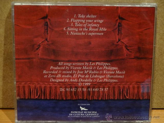 CDs de Música: LES PHILIPPES. MISMO TÍTULO. 1999 - 5 TEMAS. MUY RARO. CALIDAD LUJO. - Foto 2 - 46194035