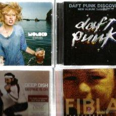 CDs de Música: 22 CD´S : ENIGMA, DESPECHE MODE, ORBITAL, AIR, FIBLA, DEEP DISH, MOLOKO, SIGUE SIGUE SPUTNIK, ETC . Lote 46197283