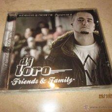CDs de Música: DJ LORO - FRIENDS & FAMILY - KODIGO NORTE 2008. Lote 46245493