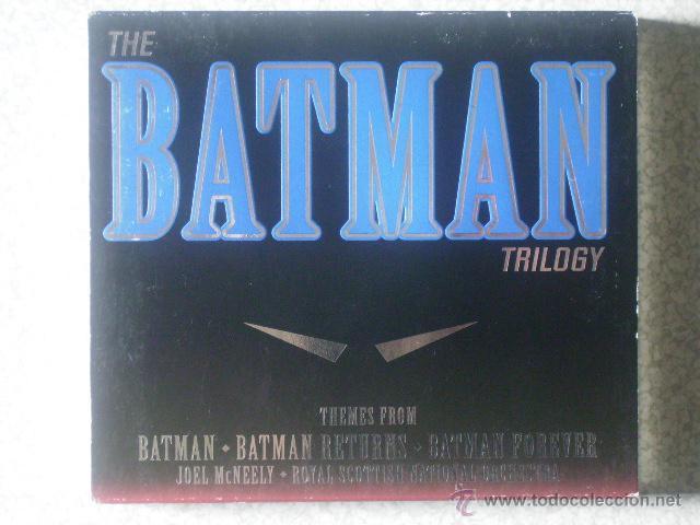 THE BATMAN TRILOGY....RAREZA (Música - CD's Bandas Sonoras)